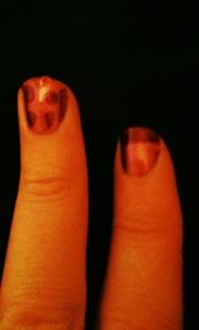 BarryM Chameleon nail polish: After