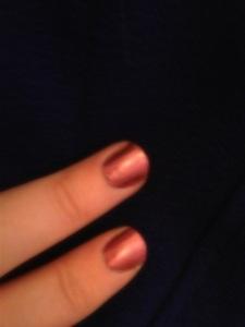 BarryM Chameleon nail polish: Before