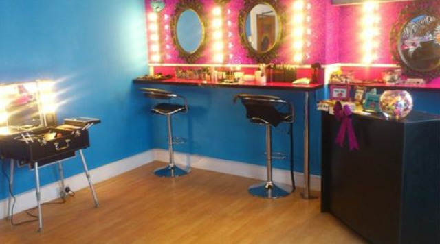 The gorgeous, glitz and glamour studio where the magic happens!