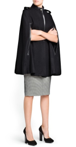 Cape Coat by Mango