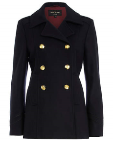 Pea Coat by River Island