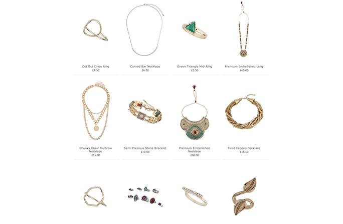 Topshop-jewellery