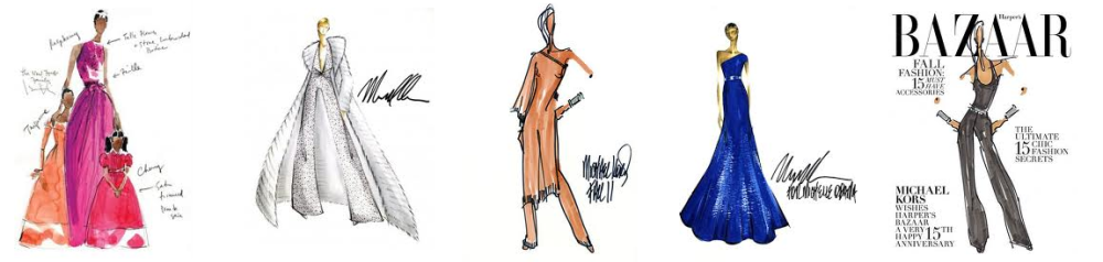 Michael Kors Sketches