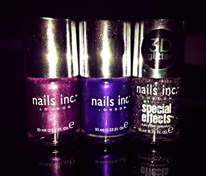 Nails Inc trio