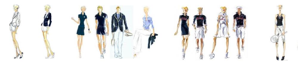 Ralph Lauren Sketches